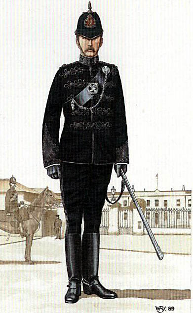 A district inspector of the Royal Irish Constabulary